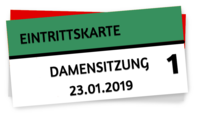 1. Damensitzung 23.01.2019